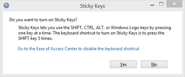 Sticky Keys – Appligent