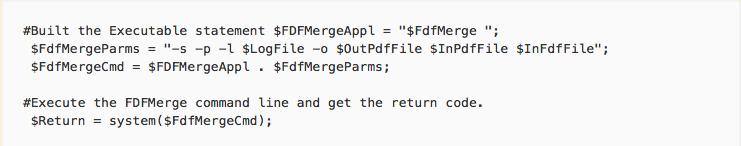 PHP sample script