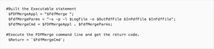 PERL sample script
