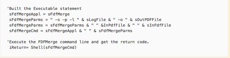 Visiual Basic sample script